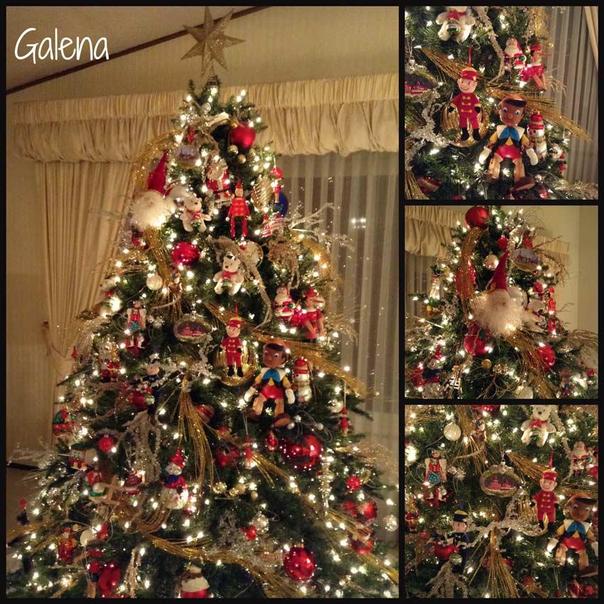 Ideas para decorar el rbol de navidad ana galena - Decoracion arboles navidenos ...