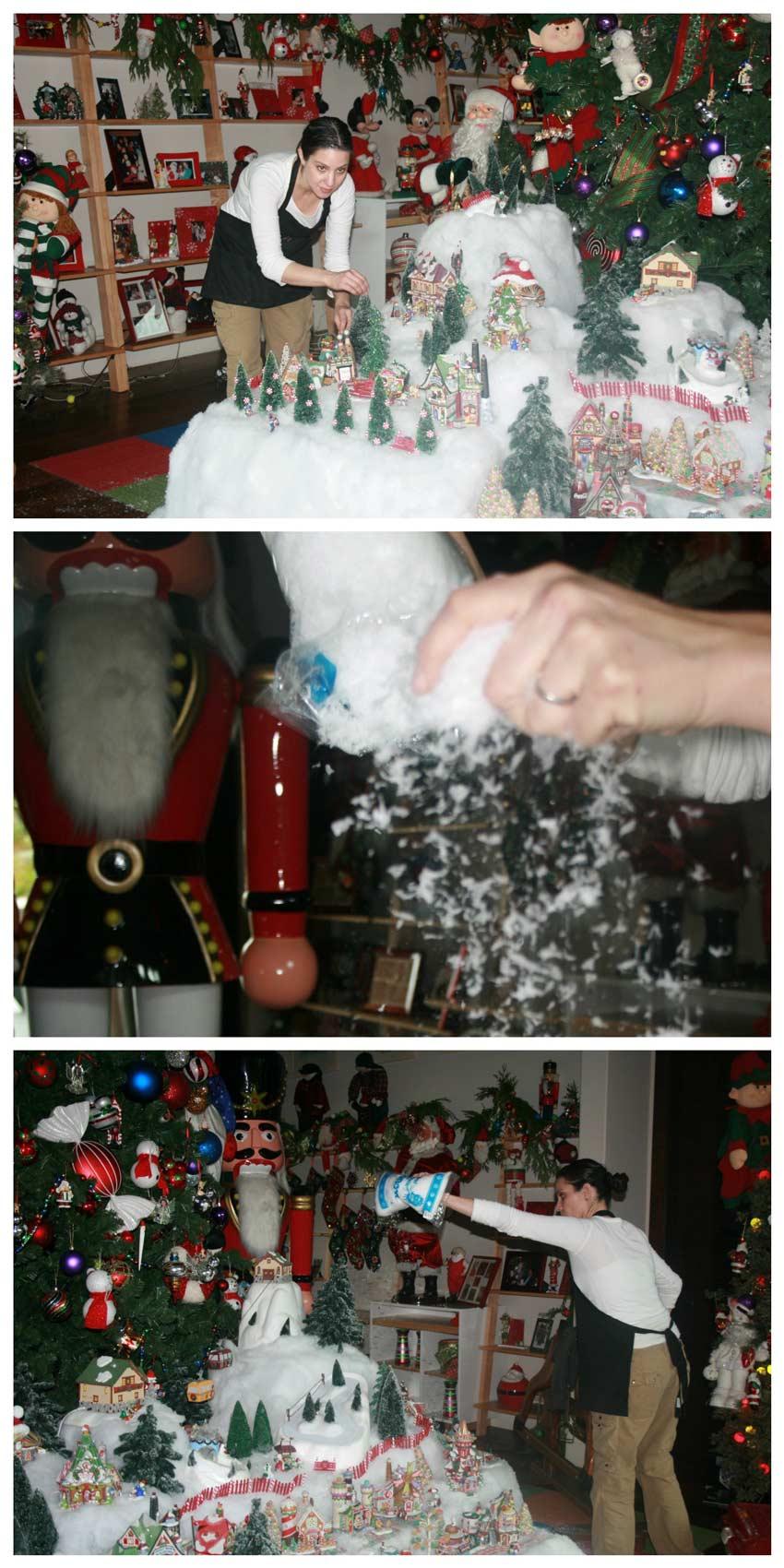 Navidad-Christmas-Decoracion-Navideña-Ana-nevando-el-pueblito-Coca-Cola