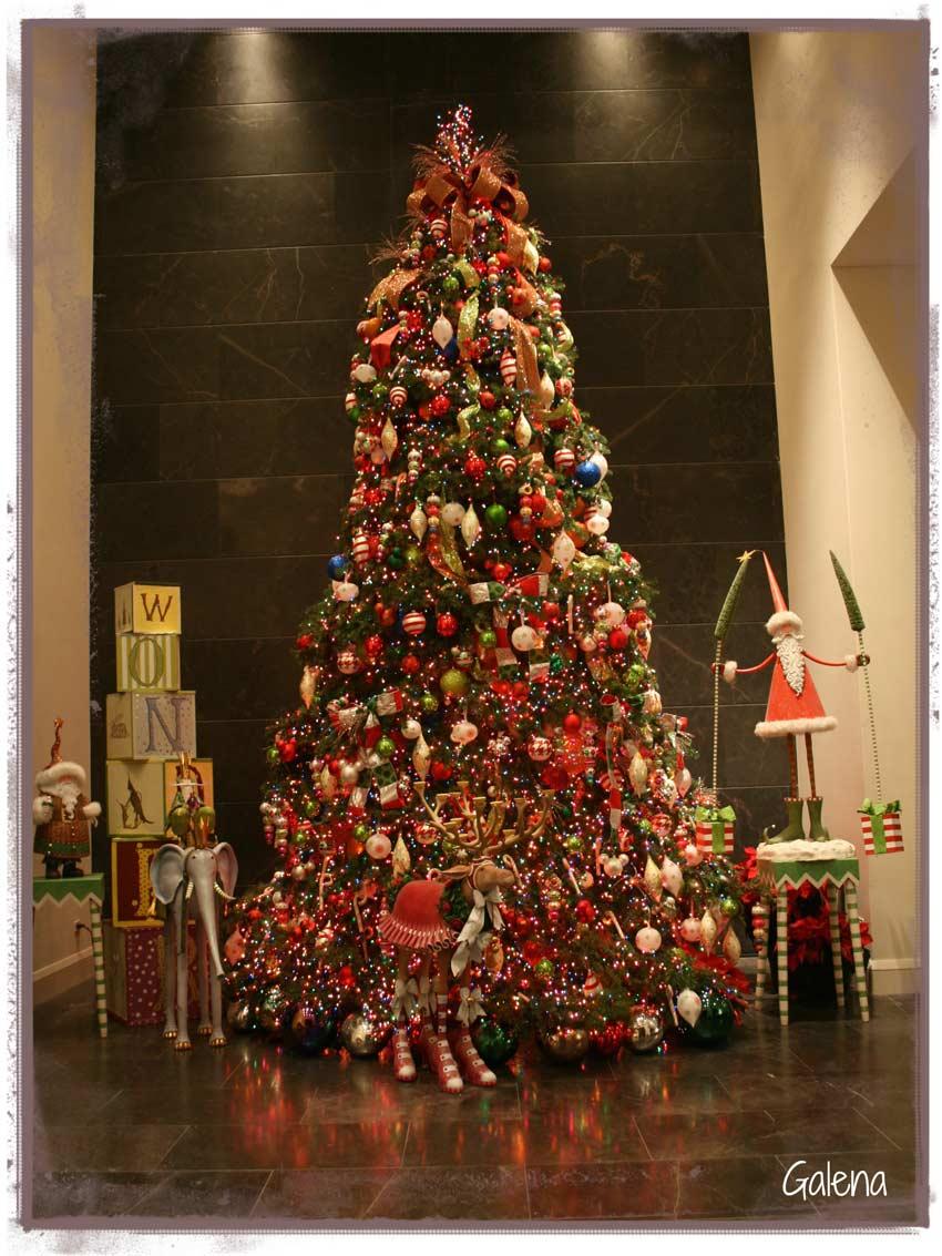 Navidad-Christmas-Decoracion-Navideña-Arbol-Navideño-Entrada
