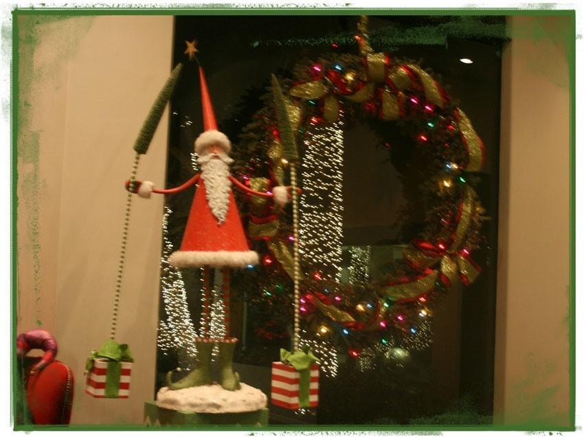 Navidad-Christmas-Decoracion-Navideña-Detalles-Santa-y-los-Regalos