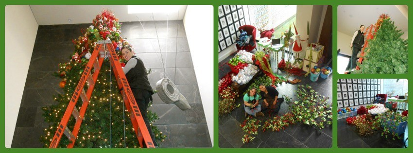 Navidad-Christmas-Decoracion-Navideña-Preparando-el-Arbol-Navideño