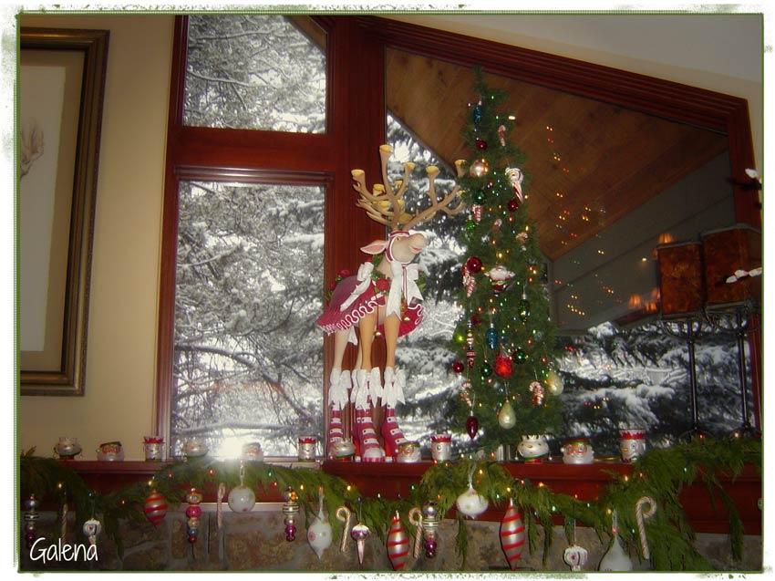Navidad christmas decoracion navide a la chimenea navide a - Decoracion navidena 2014 ...