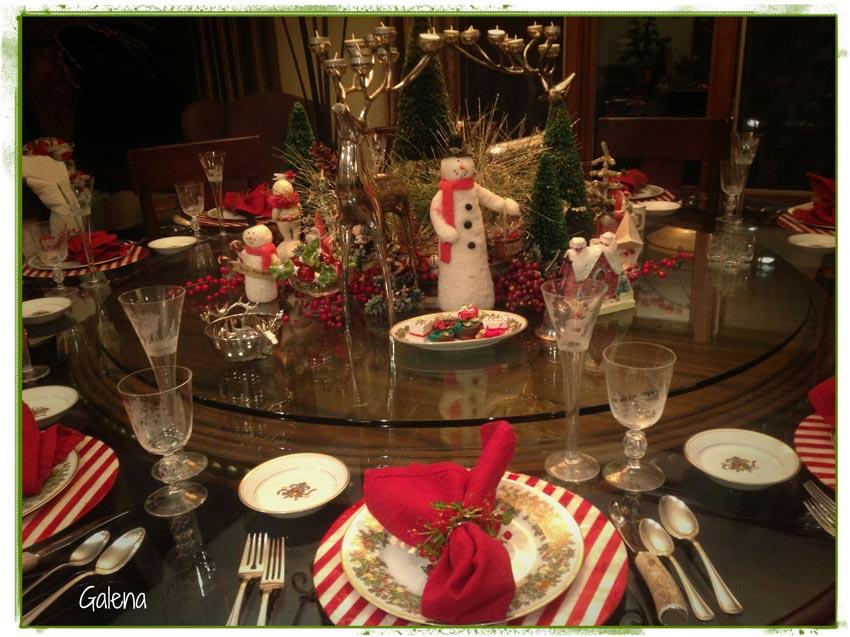 Navidad christmas decoracion navide a la mesa navide a for Decoracion de mesa navidena