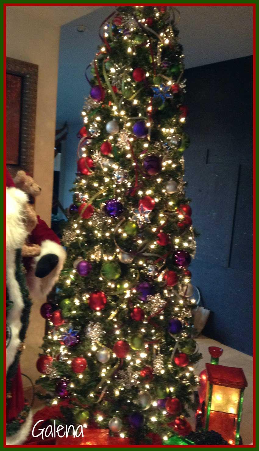 Decoraci n navide a moderna y elegante ana galena - Decoracion navidad moderna ...