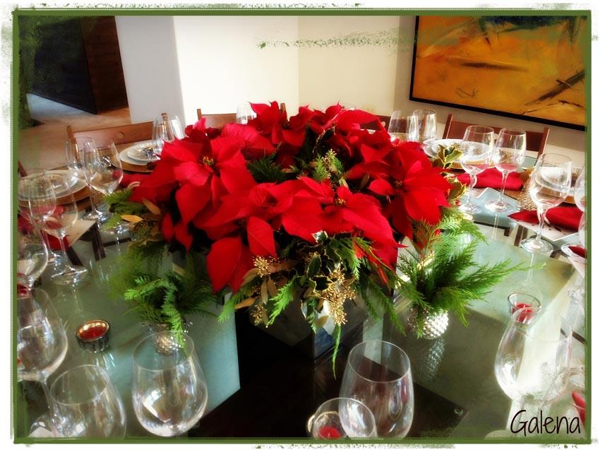 Navidad-Christmas-Nochebuenas-centro-de-mesa-nochebuenas