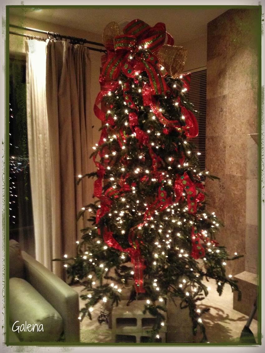 Para poner los listones al rbol de navidad ana galena - Como adornar mi arbol de navidad ...
