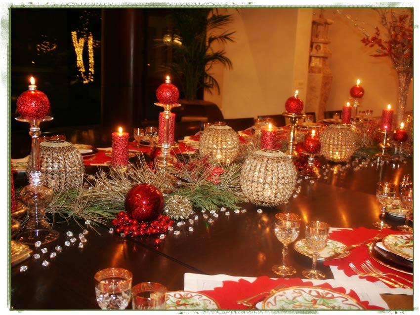 Navidad christmas centro de mesa detalles mesa navide a for Decoracion mesa navidena 2014