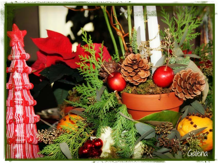 Navidad christmas centro de mesa detalles navide os 3 - Detalles de navidad ...
