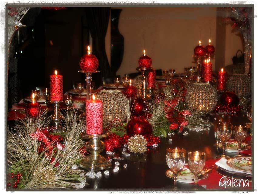 Navidad christmas centro de mesa detalles navide os ana - Centros florales navidenos ...