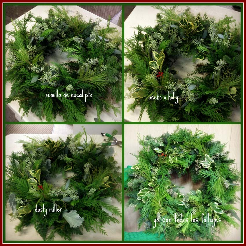 Navidad-Christmas-corona-navideña-preparando-la-corona-navideña