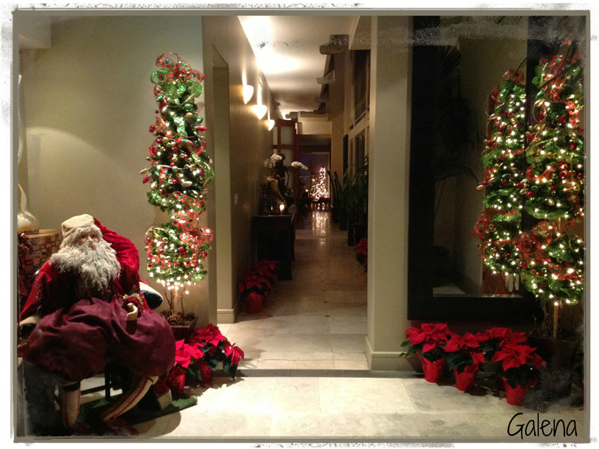 Navidad christmas deco santa navide o ana galena - Decoracion para arboles navidenos ...