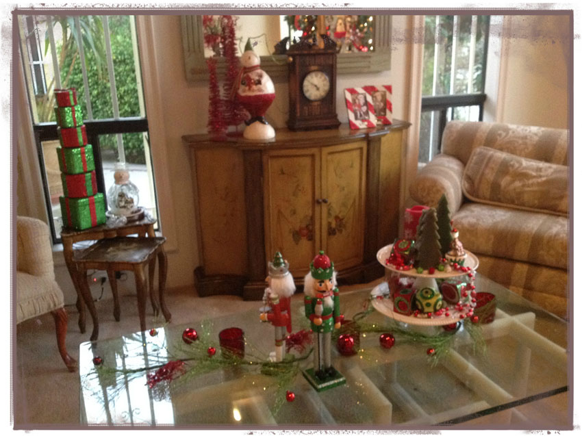 Navidad christmas decoracion navide a detalles mesa sala for Detalles de decoracion