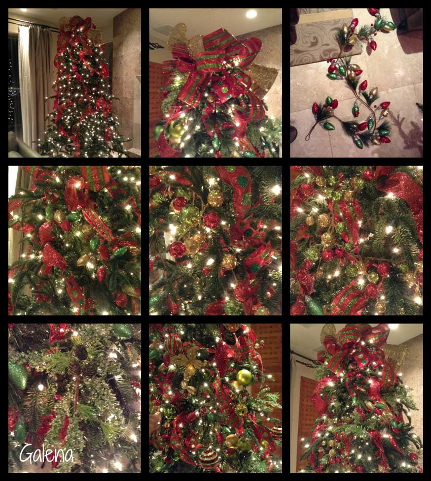 Navidad-Christmas-decorando-arbol-navideño-collage