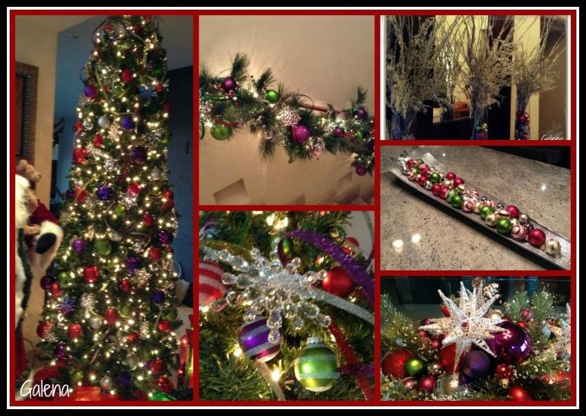 Decoraci n navide a moderna y elegante ana galena - Decoracion navidena moderna ...