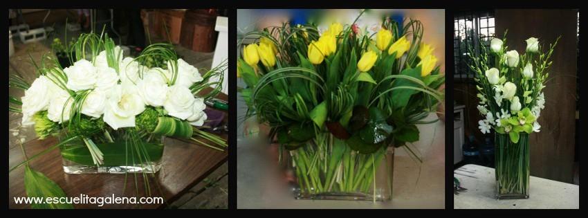 Aa Arreglos Florales Modernos Y Elegantes Ana Galena - Centros-florales-modernos