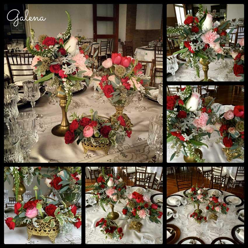 centro-de-mesa-en-tonos-rojo-con-rosa