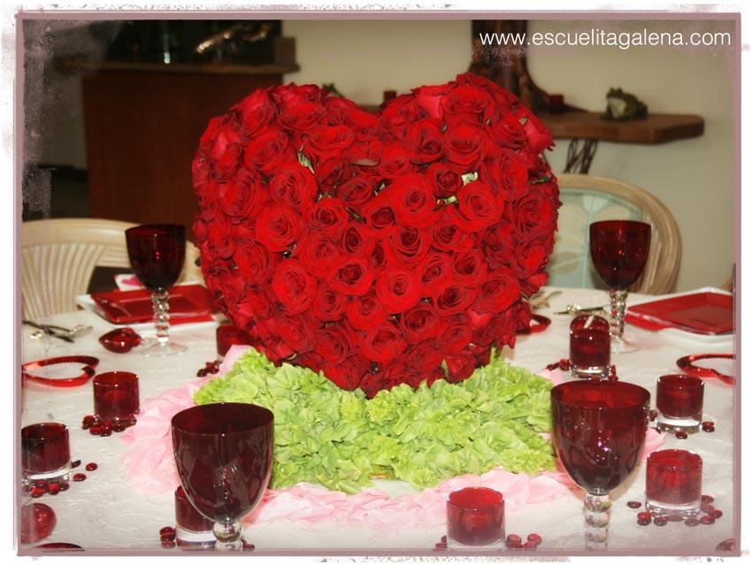 corazon-de-rosas-rojas