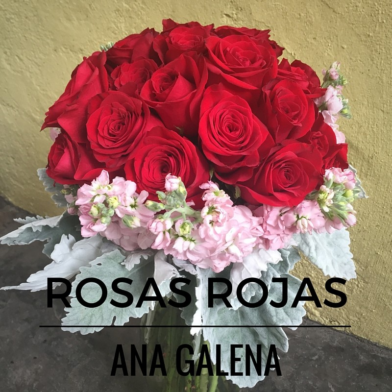 rosas rojas arreglos de flores