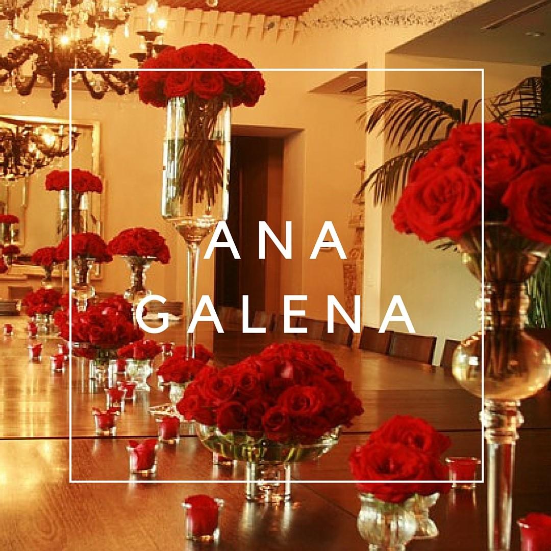 rosas rojas centro de mesa