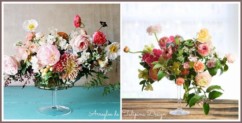 Arreglos florales de Tulipina Design