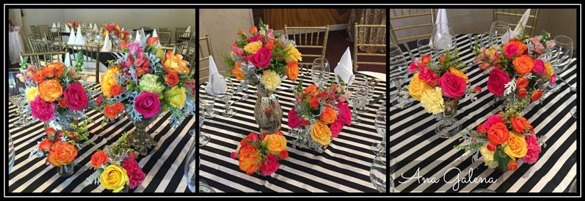 centro-de-mesa-con-rosas-retro