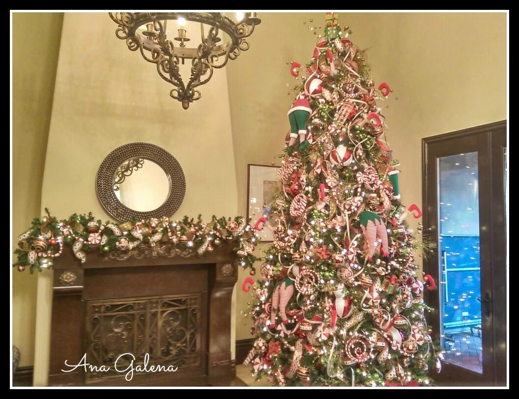 Como decorar el rbol de navidad paso por paso ana galena - Ideas decorar navidad ...