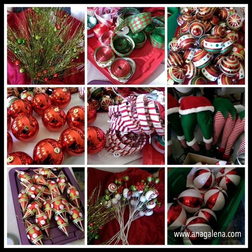 Como decorar el rbol de navidad paso por paso ana galena - Adornos para arbol navidad ...