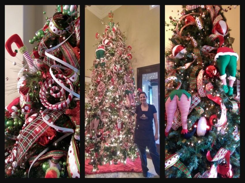 Como decorar el rbol de navidad paso por paso ana galena - Como decorar un arbol de navidad ...