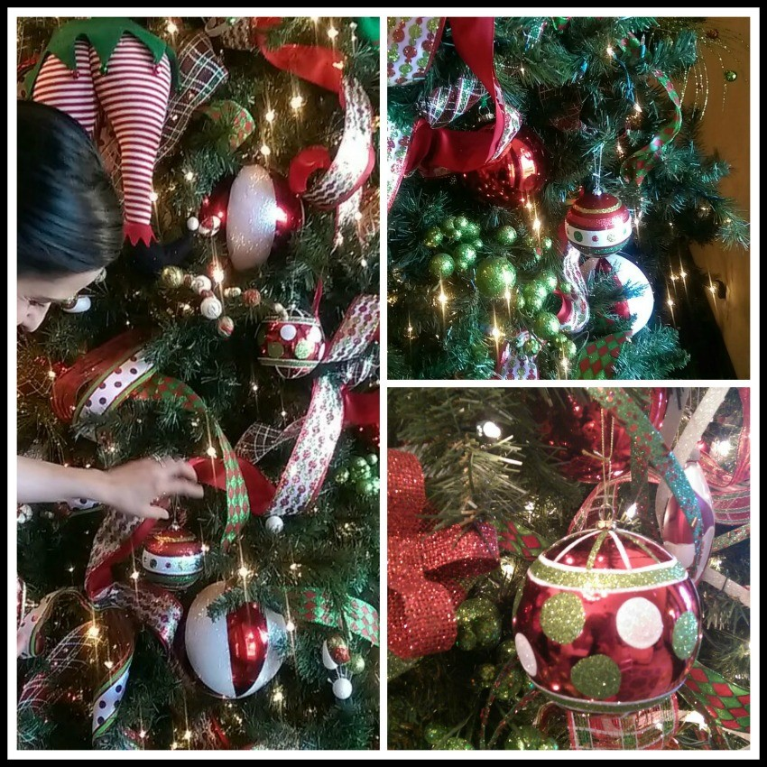 esferas para el arbol de navida