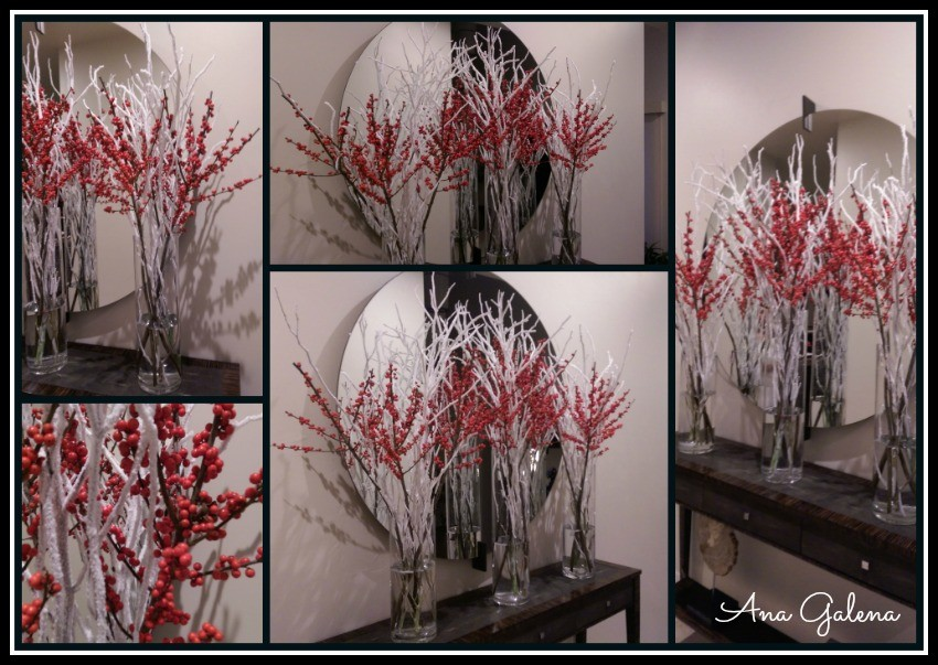 ilex berries decorating ideas