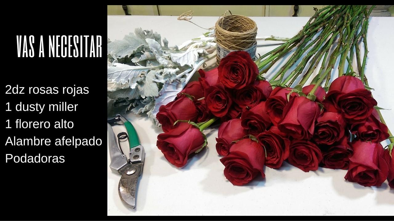 como hacer un ramo de rosas