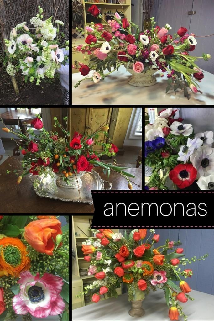 anemonas ideas para decorar
