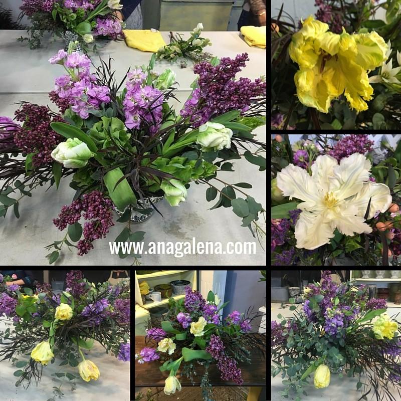arreglos de flores con tulipan perico