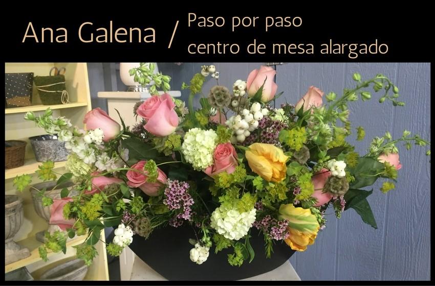 Como hacer un arreglo floral alargado ana galena altavistaventures Image collections
