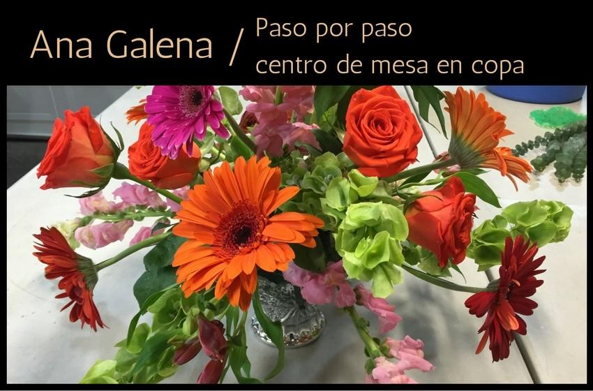 Centro De Mesa Con Gerberas Ana Galena