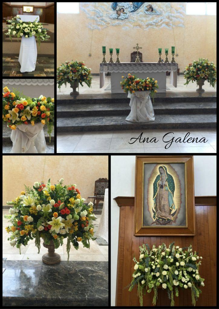 Arreglos de altar para Iglesia
