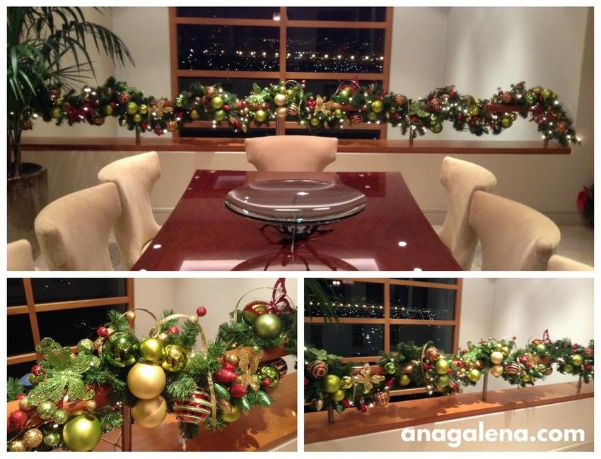 decoracion-de-guirnalda-navidena-en-colores-tradicionales-para-barandal-comedor