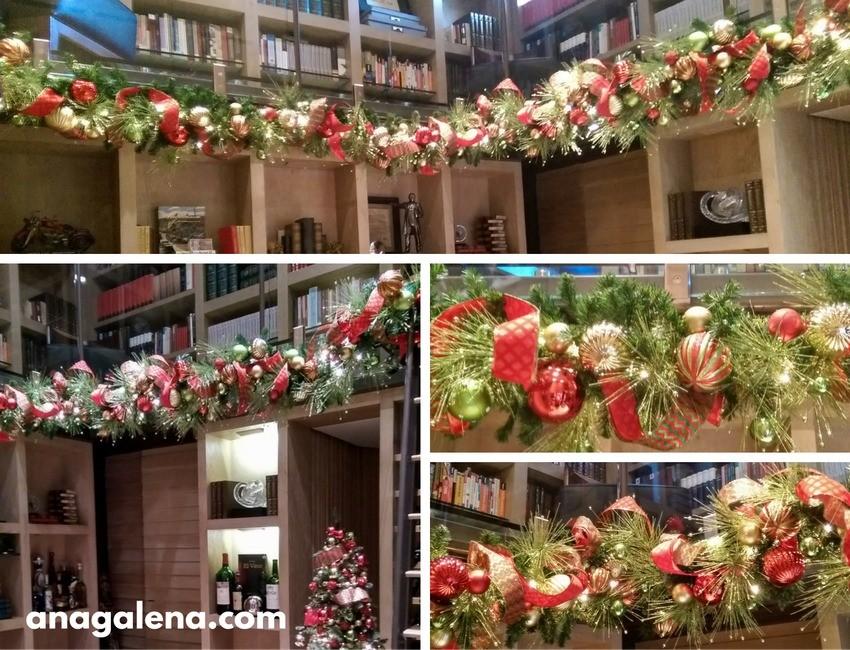 Ideas para decorar la guirnalda en navidad ana galena - Guirnalda de navidad ...