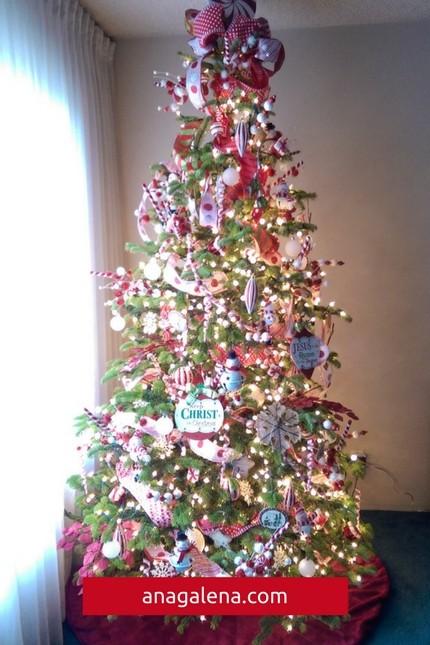 Pasos Para Decorar Arbol Navideno.40 Ideas Para Decorar Tu Arbol De Navidad Ana Galena