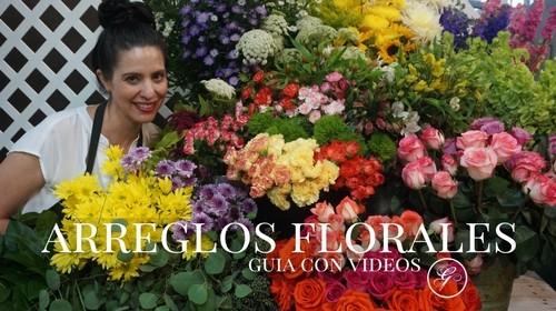 Curso en linea de arreglos florales