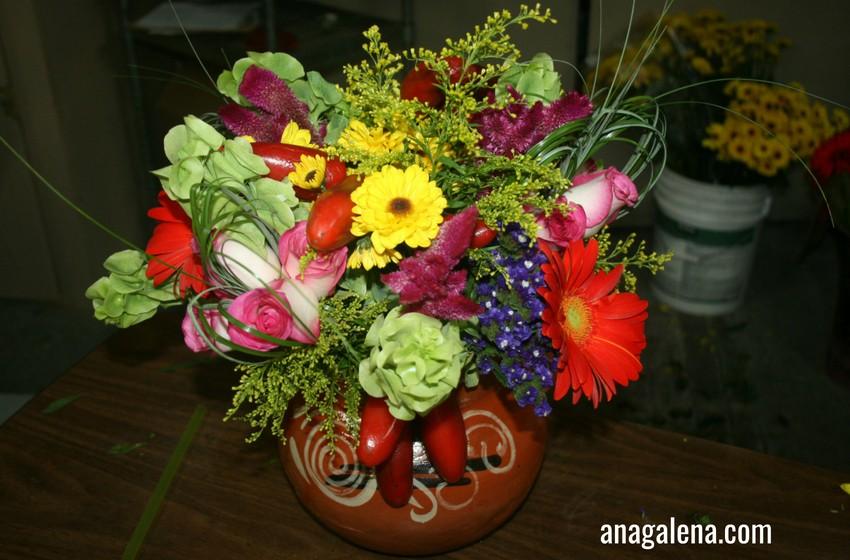 6c2822d1777e6 Decorando con Flores las Fiestas Patrias - Ana Galena