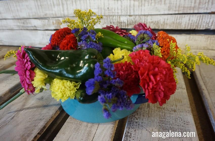 Decorando Con Flores Las Fiestas Patrias Ana Galena