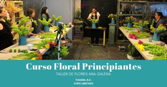 Curso Floral con Ana Galena nivel 1