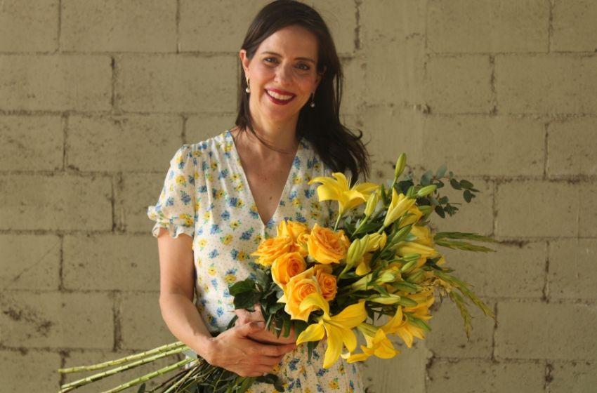 Ana Galena y las flores