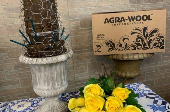 Espuma floral ecológica agrawool