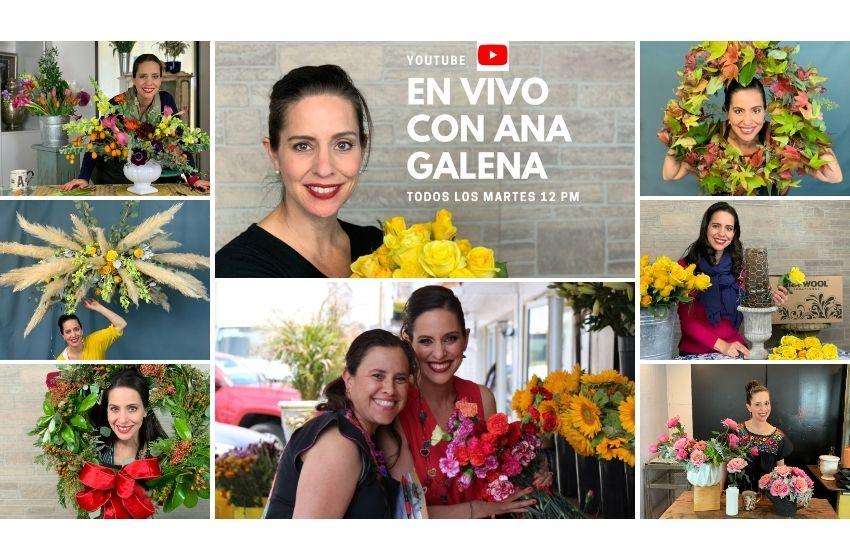Curso de flores gratuito En VIVO