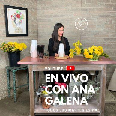 Un espacio para hablar y aprender de flores